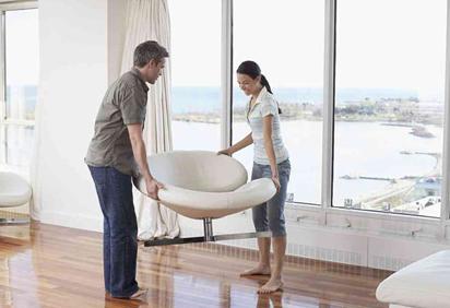 Примерка мебели